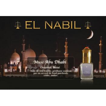 Musc Abu Dhabi 5 ml - Saudi Perfumes - Sans Alcool - El Nabil