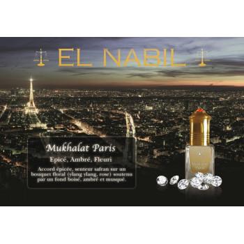 Mukhalat Paris 5 ml - Saudi Perfumes - Sans Alcool - El Nabil