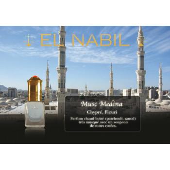Musc Medina 5 ml - Saudi Perfumes - Sans Alcool - El Nabil