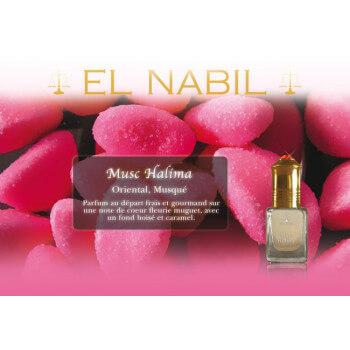 El Nabil - Musc Halima 5 ml - Saudi Perfumes - Sans Alcool