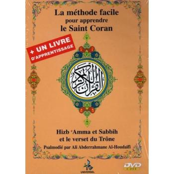 DVD La Méthode Facile Pour Apprendre La Saint Coran avec Un Livres D'Apprentissage