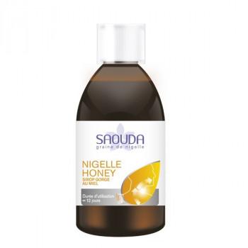 Nigelle Honey - Sirop à la Nigelle et au Miel pour la Gorge