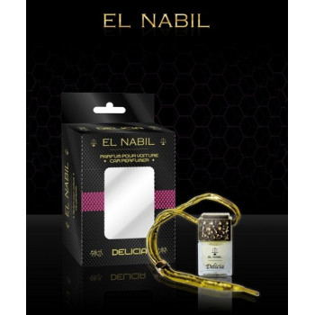 """El Nabil - Parfume Pour Voiture """"Delicia"""" - 6ml"""