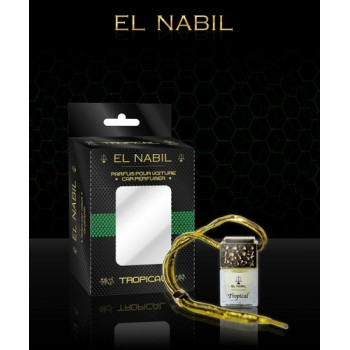 """El Nabil - Parfume Pour Voiture """"Tropical"""" - 6ml"""