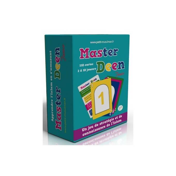 master deen junior 1 jeu de cartes partir de 7 ans librairie musulmane al hidayah. Black Bedroom Furniture Sets. Home Design Ideas