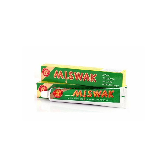 Dentifrice Herbal Miswak - 50gr + 25gr Gratuit - Laboratoire Dabur