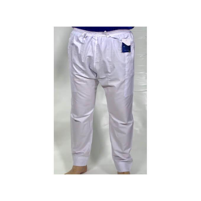 Pantalon Afaq - Sirwal Blanc - Coupe Droite - 2634