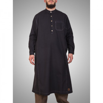 Qamis The One Linxia - Gris Anthracite