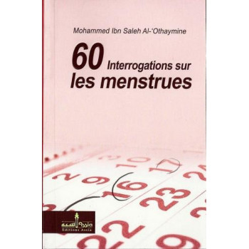 60 Interrogations Sur Les Menstrues - Edition Assia