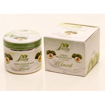 Crème Régénérante à l'Huile d'Avocat - 50 ml - Méa Naturals