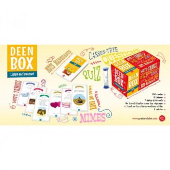 Deen Box : Mots Tabous, Quiz, Mîme, ....... A partir de 7 ans