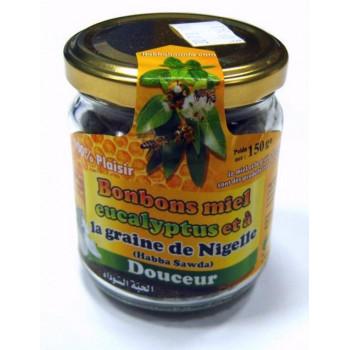 Bonbons Miel Eucaliptus et à la Graine de Nigelle - Habba Sawda - Pot 150gr