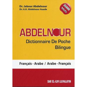 Dictionnaire de Poche Bilingue Abdelnour : Fr/Ar - Ar/Fr 35000 Mots - Edition Dar El Ilm Lilmalayin