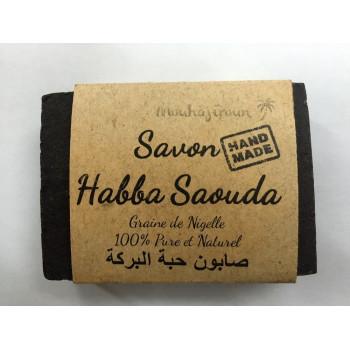 Savon à la Nigelle - Habba Saouda - Savon Fait Main - 100 gr - 100% Pure et Naturel Mouhajiroun