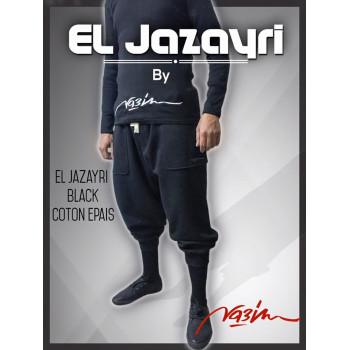 Serwel Na3im - El Jazayri - Noir - Collection Hiver 2015-2016