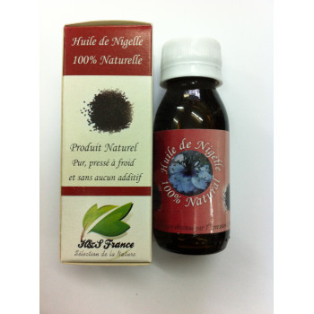 Huile de Niglle - 100% Naturel - Pressé à Froid - 60 ml