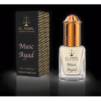 El Nabil - Musc Ayad 5 ml - Saudi Perfumes - Sans Alcool