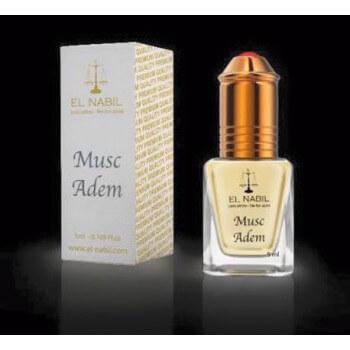 El Nabil - Musc Adem 5 ml - Saudi Perfumes - Sans Alcool