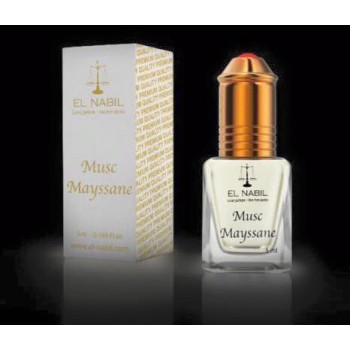El Nabil - Musc Mayssane 5 ml - Saudi Perfumes - Sans Alcool