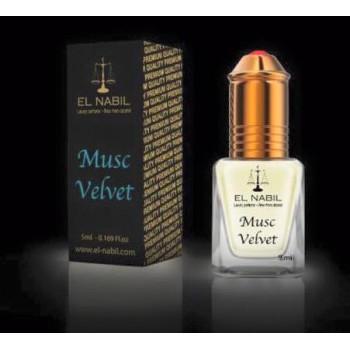 El Nabil - Musc Velvet 5 ml - Saudi Perfumes - Sans Alcool