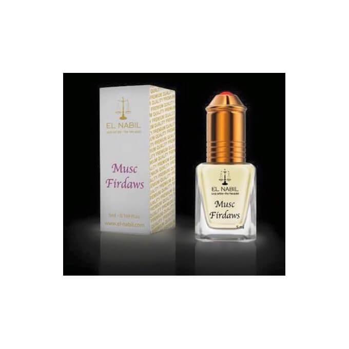 El Nabil - Musc Firdaws 5 ml - Saudi Perfumes - Sans Alcool