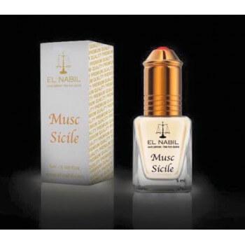 El Nabil - Musc Sicile 5 ml - Saudi Perfumes - Sans Alcool