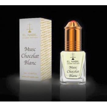 El Nabil - Musc Chocolat Blanc 5 ml - Saudi Perfumes - Sans Alcool