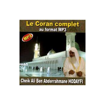 MP3 Le Coran Complet Cheikh Hodayfi