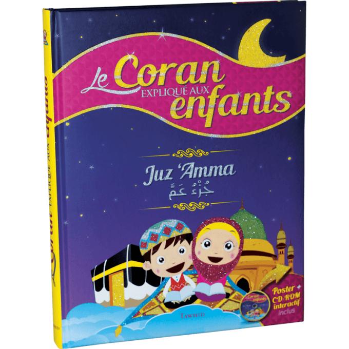 Le Coran Expliqué aux Enfants - Juz Amma - Poster + CD Rom Interactif Inclus - Edition Tawhid