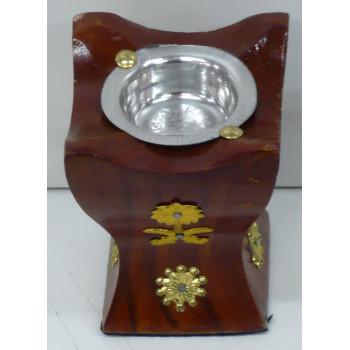 Brûleur d'Encens ou Bakhour avec Charbon - Taille Moyenne - 12 x 6 cm