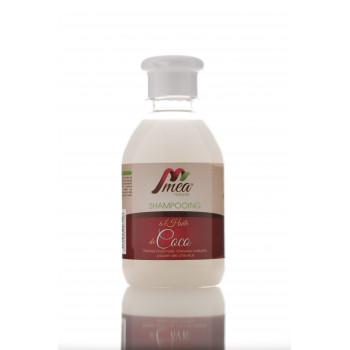 Shampoing à l'Huile de Coco - Traitement Cuir Cheveux Abimé et Dévitalisés - 250 ml - Méa Naturals