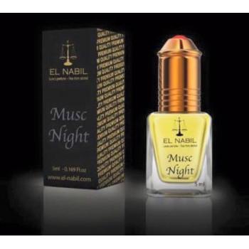 El Nabil - Musc Night 5 ml - Saudi Perfumes - Sans Alcool