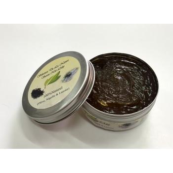 Savon Noir d'Alep aux Extraits de Nigelle - 100% Naturel et Biodégradable