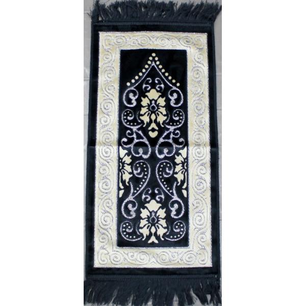 tapis de pri re bleu nuit pour enfant al hidayah. Black Bedroom Furniture Sets. Home Design Ideas