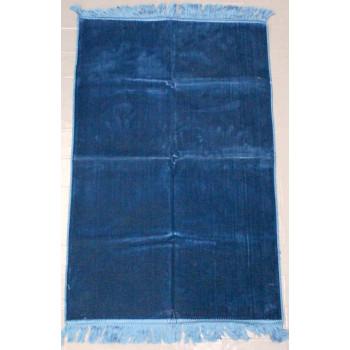 Tapis de Prière de Couleur Unis - Bleu Pétrole - U1