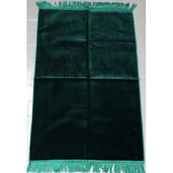 Tapis de Prière de Couleur Unis - Vert Bouteille - U8