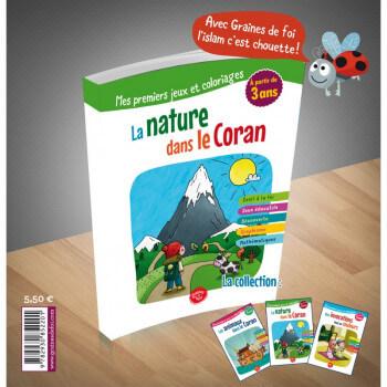 La Nature dans le Coran - à partir de 3 ans - Edition Graines de Foi