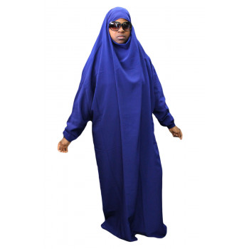 A1 - Tissus Koshibo n°27 - 1 Pièce - Bleu Electrique - Jilbab El Bassira