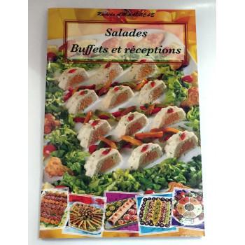 Salades - Buffets et Réceptions - Recettes de Cuisine - Rachida Amhaouche - Edition Chaaraoui