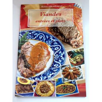 Viandes Entrées et Plats - Recettes de Cuisine - Rachida Amhaouche - Edition Chaaraoui