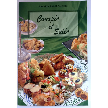 Canapès et Salés - Recettes de Cuisine - Rachida Amhaouche - Edition Chaaraoui