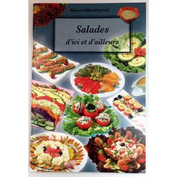 Salades d'Ici et d'Ailleurs - Recettes de Cuisine - Rachida Amhaouche - Edition Chaaraoui