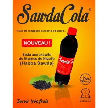 Sawda Cola - La Boisson à la Graine de Nigelle et au Cola - Habba Saouda - 500 ml