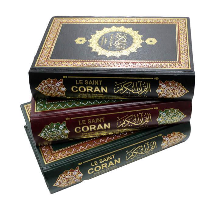 Le Noble Coran et la Traduction en Langue Française de ses Sens - Français /Arabe - Traduction Mohammad Hamidoullah