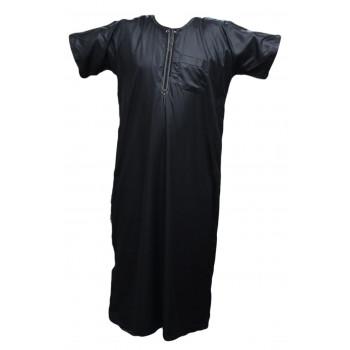 Qamis Al Carpal - Noir - Manche Courte - 3792