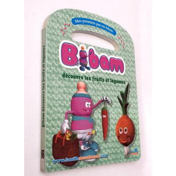 Bibam, découvre Les Fruits et Légumes - Edition Pixel Graf