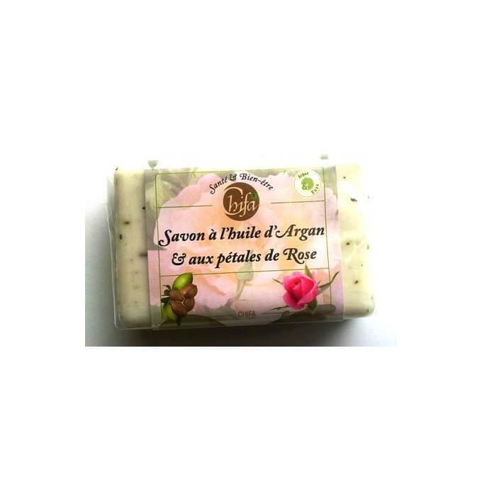Savon Chifa - Huile d'Argan et Pétale de Rose - 100 gr